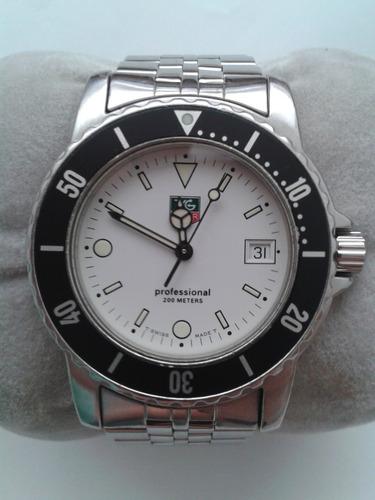 Reloj Tag Heuer 1500 Wd1213 Hombre Cristal De Safiro