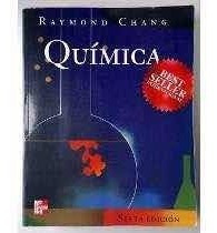 Libro Físico Química Raymond Chang Sexta Edición