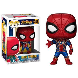 Funko Pop Iron Spider 287 Avengers Infinity War- Minijuegos