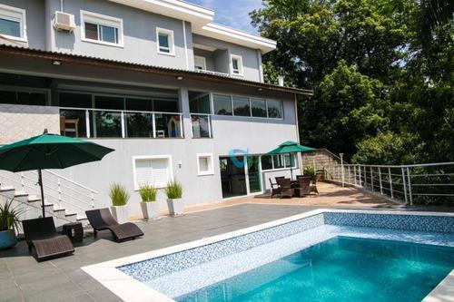 Casa Com 4 Dormitórios À Venda, 360 M² Por R$ 2.400.000,00 - Vila Velha - Santana De Parnaíba/sp - Ca1428