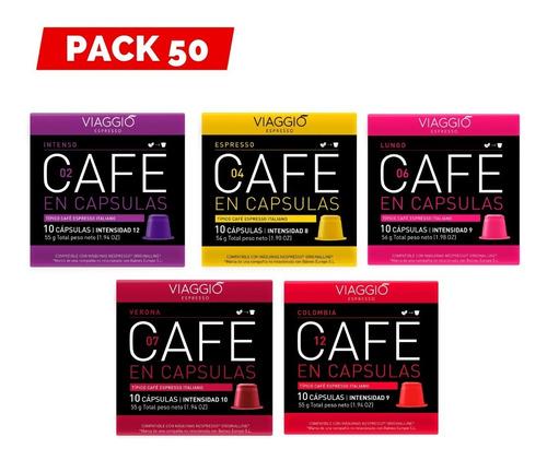 Arma Tu Pack 50 Cápsulas Café Viaggio Para Nespresso®