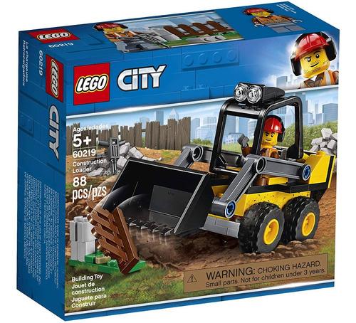 Lego City De 60219 Kit De Construcción (88 Piezas)
