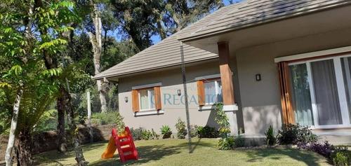 Casa Com 3 Dormitórios À Venda, 220 M² Por R$ 1.450.000,00 - Vivendas Do Arvoredo - Gramado/rs - Ca0545