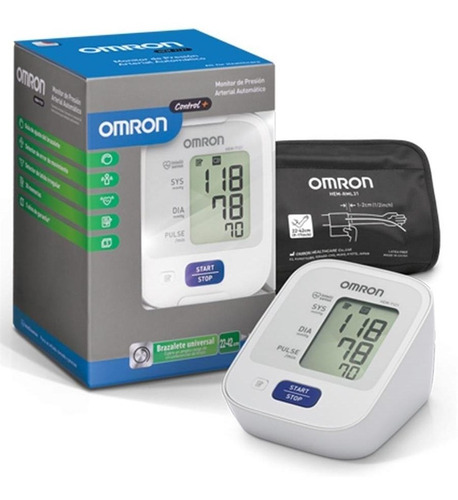 Tensiometro Presion Arterial Omron Hem-7121 Brazo Comfit