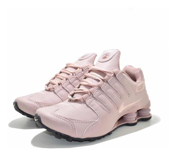 Tenis Nike Shox Nz 4 Molas Top!!