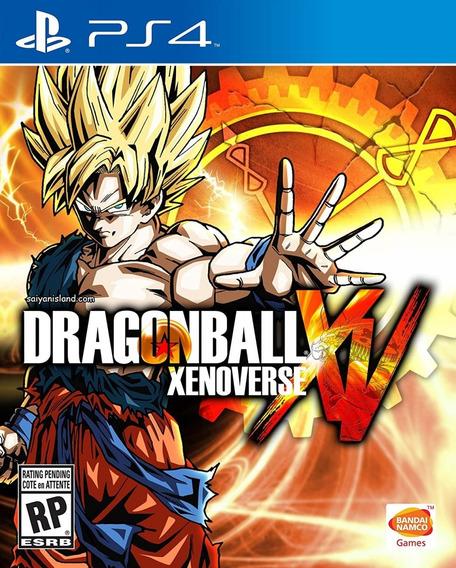 Dragon Ball Xenoverse Ps4 Midia Fisica Portugues Novo
