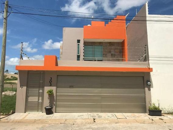 Casa En Venta Angel Bracho, Fracc. Paraiso Ii