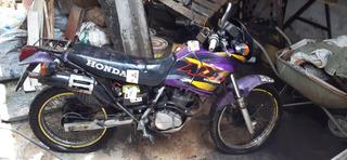 Moto Nx 200 Honda Leilão 99 99