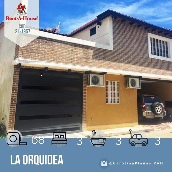 Apartamento En Venta En Maracay, La Orquidea 21-1957 Scp