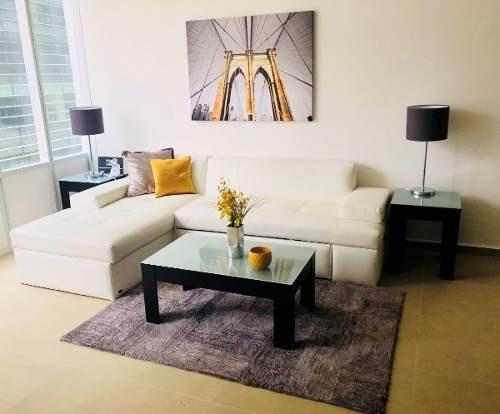 Departamento En Renta Residencial Carso Amueblado Y Equipado