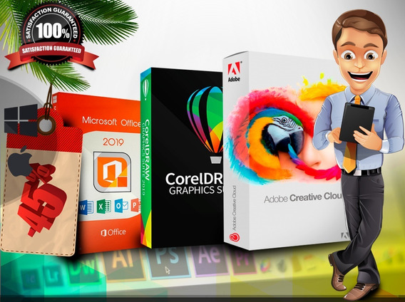 Adob Creative Cloud 2020 Serve Em Mac & Win