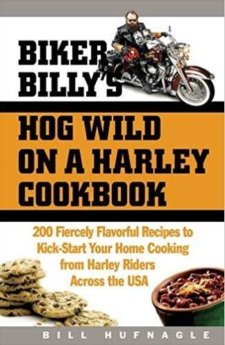 Livro Harley Cookbook Biker Billys Hog Receitas Inglês Eua