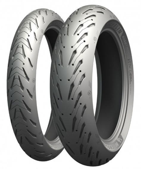 Par Pneu Michelin 120/70-17 + 160/60-17 Pilot Road 5 Cb 500