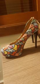 Sapato Estampa Romero Britto
