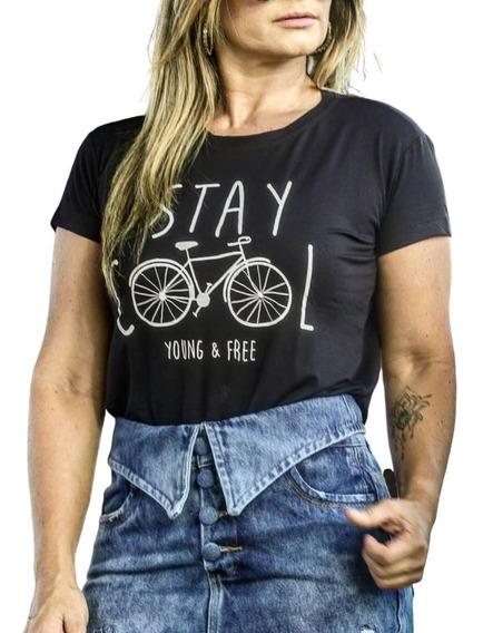 Camiseta Feminina Stay Cool