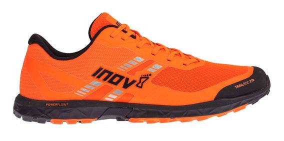 Tenis Hombre Inov8 Naranja/negro Montaña Trailroc 270