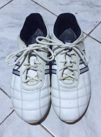 Tenis adidas Kundo 2 - Seminovo Branco Tamanho 44