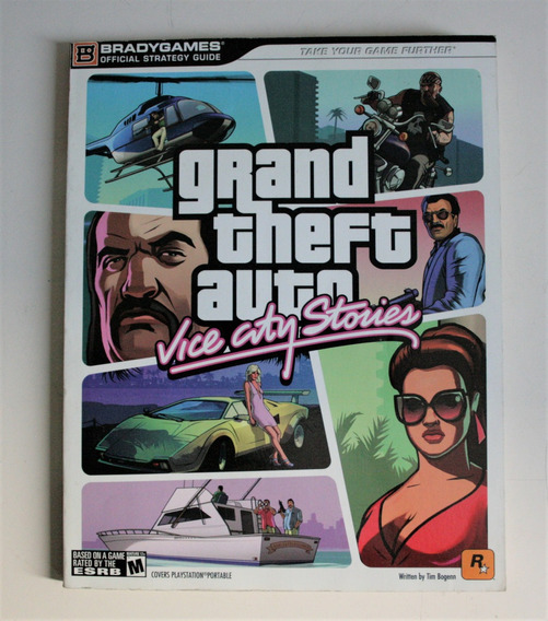 Guia Oficial Bradygame Strategy Guide Gta Vice City Stories