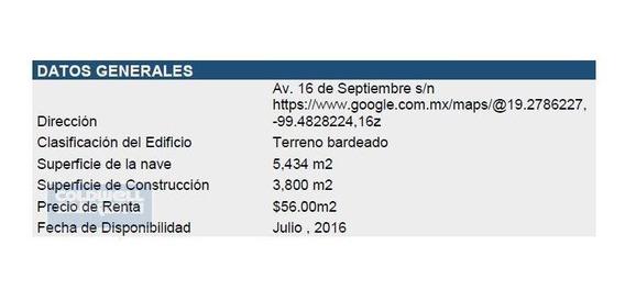Bodega Nave Industrial En Renta, Ocoyoacac, Estado De México