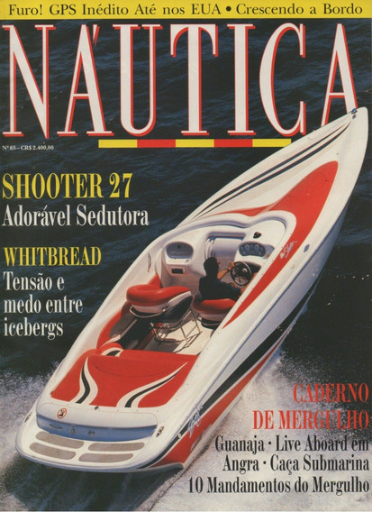 Náutica Nº65 Shooter 27 Whitbread Fidji 18 Flexboat Sr-10