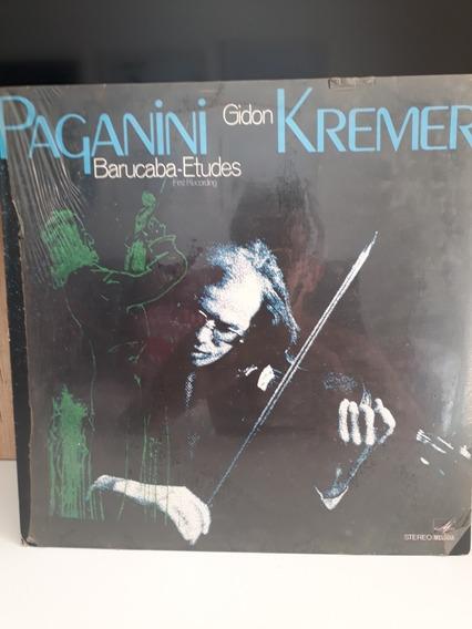 Lp Novo Paganini Gidon Kremer Barucada Estudos