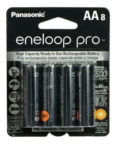 Pilas Recargables Panasonic Eneloop Pro 2550mah Pack X8