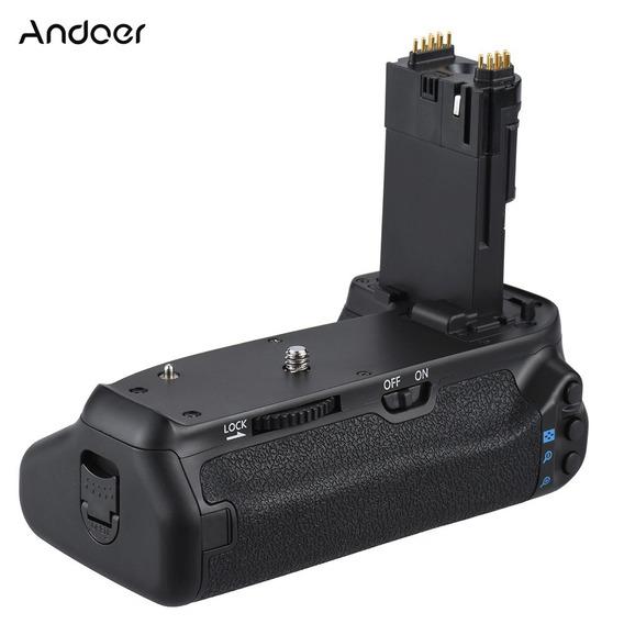 Andoer Bg-1t Vertical Bateria Detentor Do Aperto Por Canon