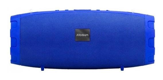 Caixa De Som Portátil Soundbox Two 50w Bt Frahm - Azul