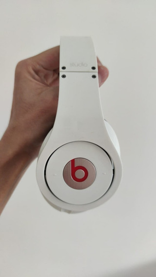 Fone De Ouvido Beats Studio Branco - Beats By Drdre - Usado