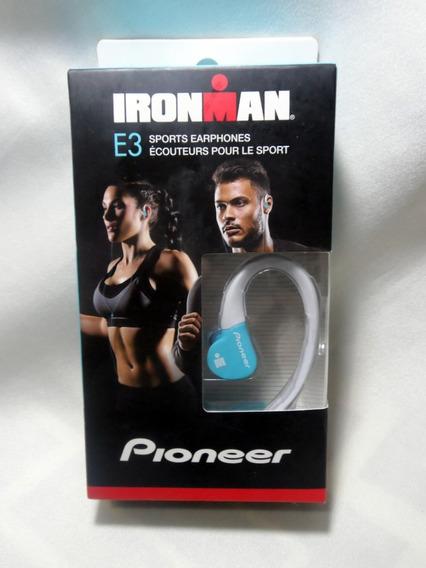 Pioneer Ironman Audifonos Se-e3m(gr) Deportivos