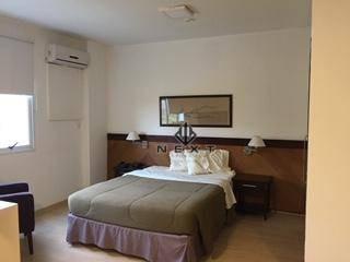 Flat Com 1 Dormitório Para Locação, 39 M² No Quality Suites - Centro De Alphaville - Sp - Fl0004