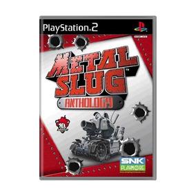 Metal Slug Anthology Ps2 Mídia Física