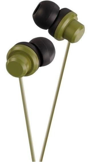 Fone De Ouvido Jvc Hafx8 K Cor Verde Headphone Original