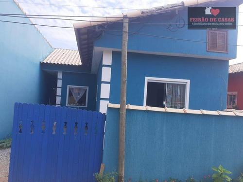 Casa Com 1 Dormitório À Venda, 50 M² Por R$ 75.000,00 - Unamar - Cabo Frio/rj - Ca0268