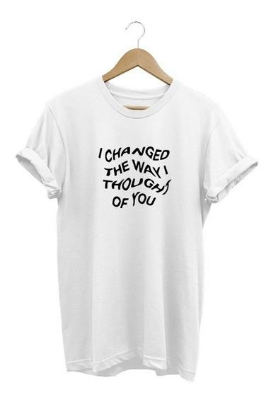 Camiseta Camisa Masculina Blackbear I Changed The Way I Thought Of You