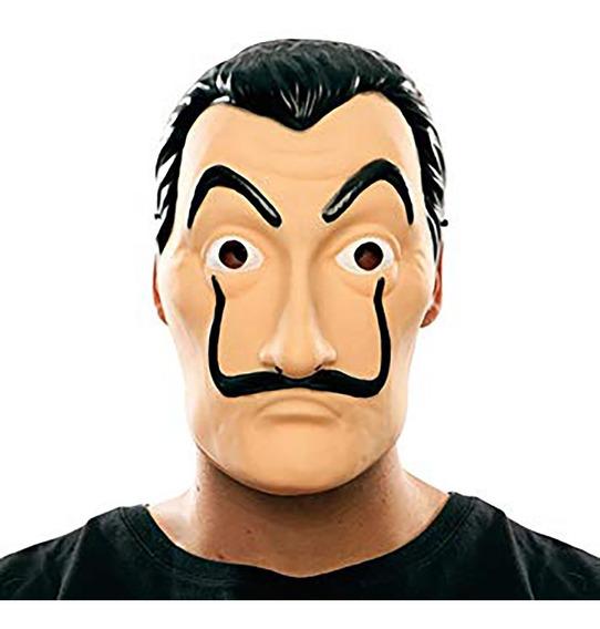 Máscara Salvador Dali La Casa De Papel Plástico Netflix