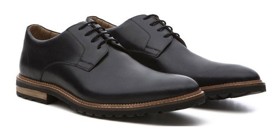 Sapato Masculino Stock 51 Derby Denver De Couro Legítimo