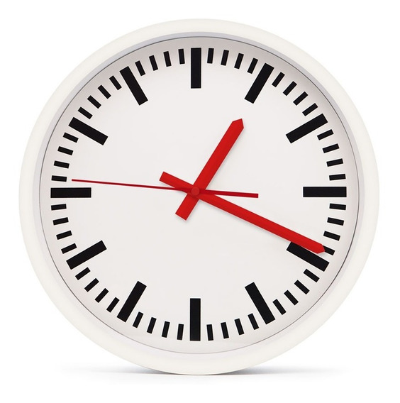 Reloj De Pared Metal Swiss Clock Gato