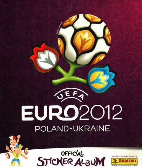 Álbum De Estampas Panini Euro 2012 Polonia Ucrania