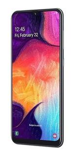 Smartphone Samsung Galaxy A50 Preto 64gb, Tela Infinita De 6.4 , Câmera Traseira Tripla, Leitor Digital Na Tela, Android