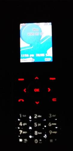 Celular LG Mg 280 Preto Chocolight. Op Vivo