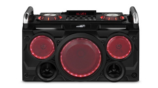 Parlante Portatil Bluetooth Rgb Con Woofer Sentey Gang Punk