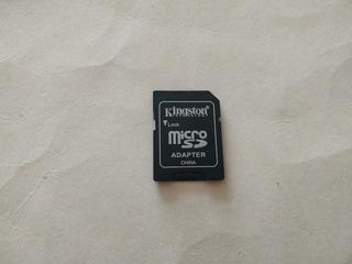 Memoria Micro Sd Y Adaptador Kingston