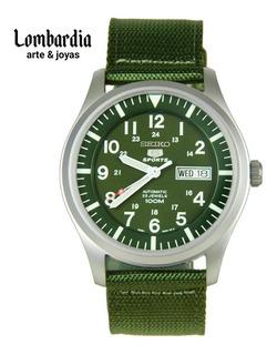 Reloj Seiko Automático Militar Snzg09k1,el Envío Es Gratis.