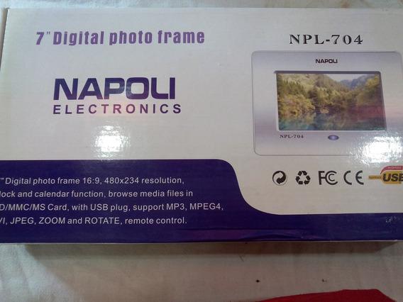Porta Retrato Digital Napoli Npl-704