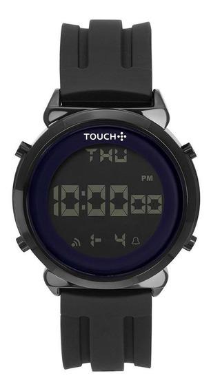 Relógio Unissex Touch Off Preto - Original