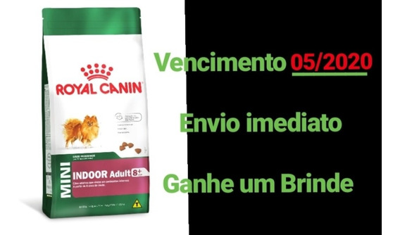 Ração Royal Canin Mini Indoor Senior 7,5kg ( Cães Sênior )
