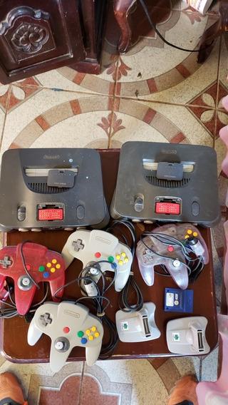 Lote Paquete 67 Juegos De N64, Inclute Consola