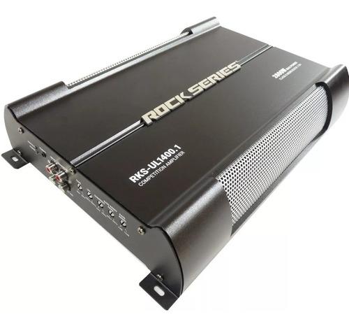 Imagen 1 de 6 de Amplificador Clase D X Bajos 2800w. Rock Series Rks-ul1400.1