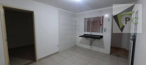 Imagem 1 de 5 de Apartamento Com 1 Dormitório Para Alugar, 30 M² Por R$ 700,00/mês - Vila Palmeiras - São Paulo/sp - Ap0537
